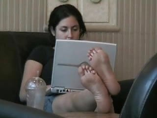 Coffee shop and sexy Candid teen feet in a coffee shop she knew