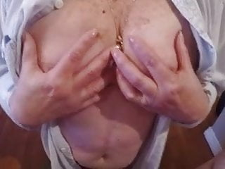 Sucking owm boob - Granny with big boobs suck me deliciously