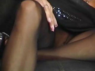 Xxx nylon lingerie Lesbians love fetish nylon lingerie