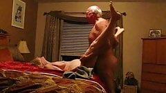 Old white couple good fucking