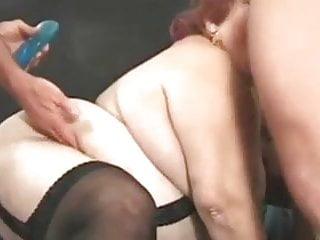 Fat woman anal sex - Fat woman fucks two