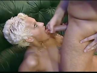 Short girls facial cum Short hair blonde milf sucks and gets cum on her face