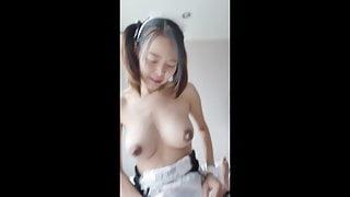 YoradaX Asian Maid sex