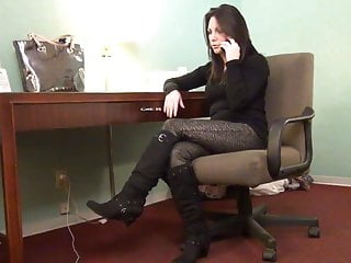 Nylon footjob movies - Nylon footjob