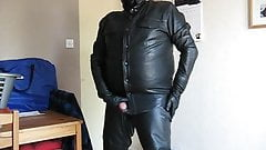Fully leather and horny