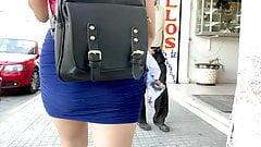 Teen Mini Skirt . Ass Walking 3