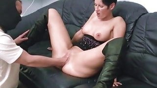 German whore gets fisted