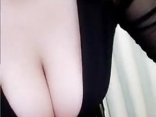 Busty chinese tits Busty chinese cam girl masturbates 1