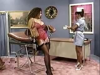 Nurse examination of penis - Examination by a lesbian nurse