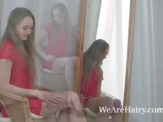 Erotic strip games - Alex diaz strips erotically in front of her mirror