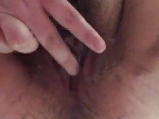 Big fat hairy pussy cumming Rubbing my fat hairy clit