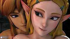 Link Creampies Princess Zelda