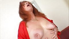 Horny redheaded Mature getting fucked