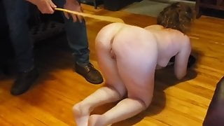 Amateur Maledom - Very Hard Caning (No Sound)