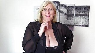 Kinky british Grandma Lust over BBC Creampie.