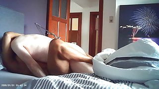 cheating interracial sex with black chubby hot milf