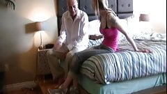 SB3 stepdaughter Blackmailed For A Fuck !