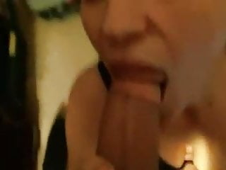 Wife sucks dick infront of husband Wife sucks husbands big ol dick
