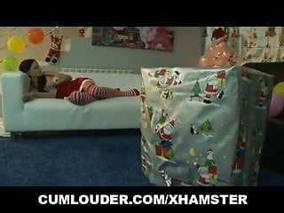 Cute pussy cats Babe abbie cat sucks and fucks a christmas cock