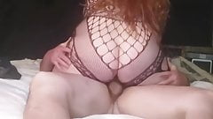 BBW Riding and then Pounded Doggy Style.