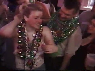 Teen flashing breasts - Mardi gras flasher thinks her breasts are gorgeous