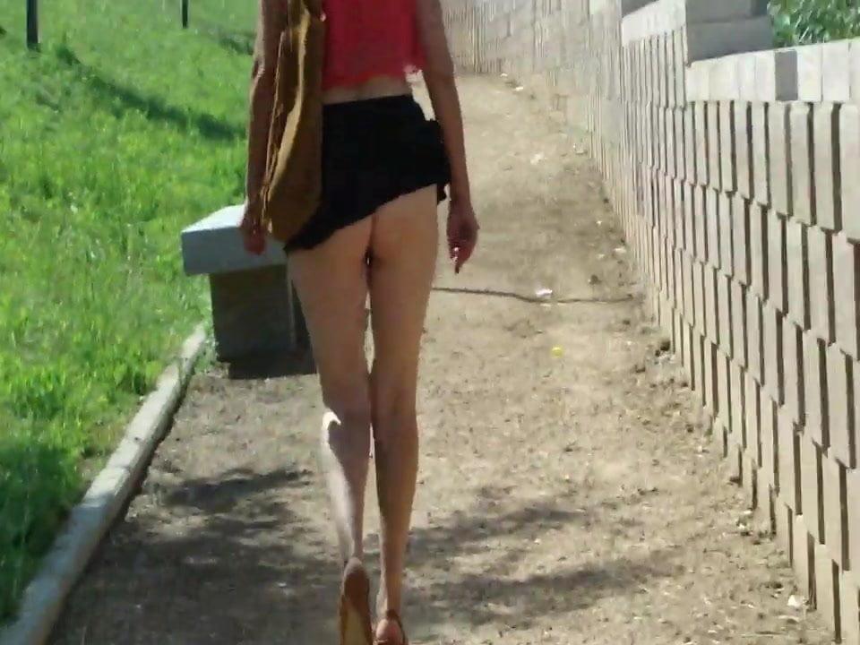 Public Up Skirt Masturbation