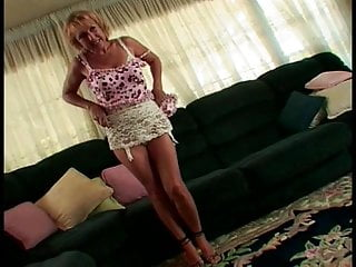Ass cock fucking sucking woman - Petite blonde mature woman with great ass sucks a giant black cock