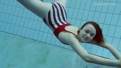 Lada Poleshuk hot underwater babe