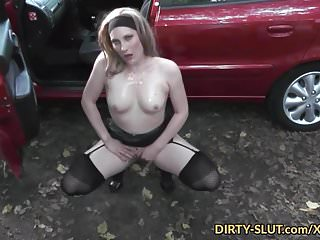 Dirty slut wife Blonde wife gets gangbanged while cuckold husband films