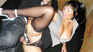 Big Tittied MILF Romana Ryder Gets Dicked on an Elevator