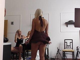 Porn star serenade Flying skirt serenade, minutes of no panties upskirts - 4k