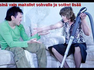Mature captions - Slideshow: mom emilia with finnish captions