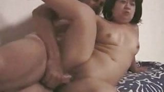 Asian midget fucked in her tight shaved puyssy