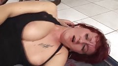 Redhead mature hairy pussy 2