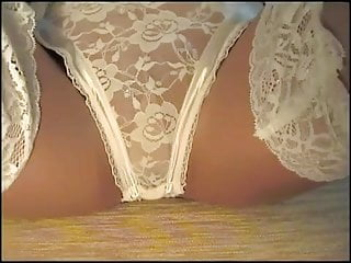 Sexy lace lingerie - White lace lingerie
