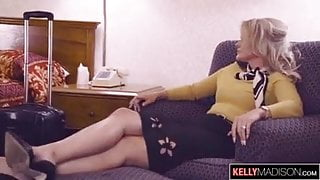 Flight Attendant Lisey Sweet Assfucked Until She Squirts