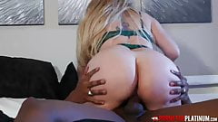 PORNSTARPLATINUM - Big Ass Kiki Daire Rides BBC After 69