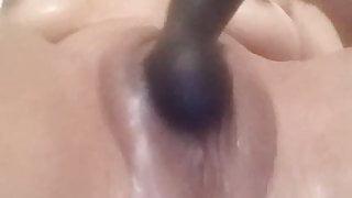 vibrator fun in the shower