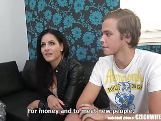 Pussy popin uncensored video Uncensored true face of czech wife swap
