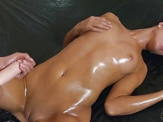 Strapon cum porn Strapon cum pmv compilation