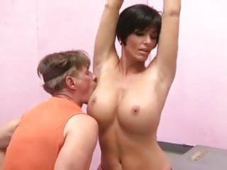 Girls armpit fetish Busty brunette armpit fetish