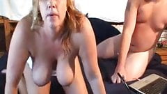 Cumslut wife does everyone