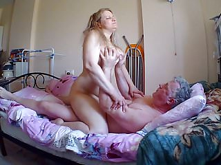 Big big breast video Big breast russian milf rides cowgirl.