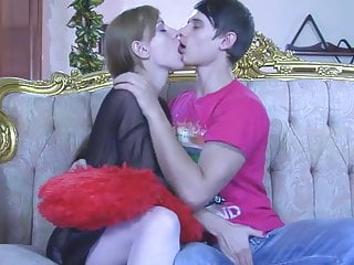 Bisexual videos Cumkiss and pegging russian style