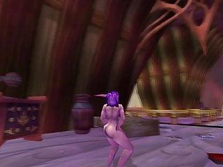 Night elf lesbians Night elf dance