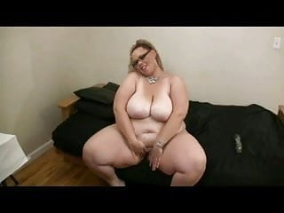 Clean shaven pussys Big fat bbw with big tits playing with her wet shaven pussy