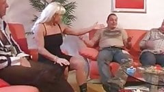 Vintage german perverted family hardcore rim young old film