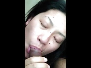 Black dicks asian Asian chick sucking black dick with style