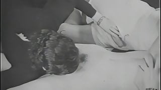 1920s Vintage Porn Remastered in HD, Blowjob at a Nudist Bar