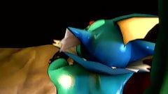 Pokemon Vaporeon Ass